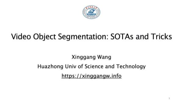 Wangxinggang-视频物体分割业内领先模型和网络设计技巧