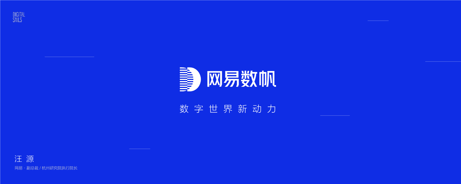汪源-网易数帆品牌