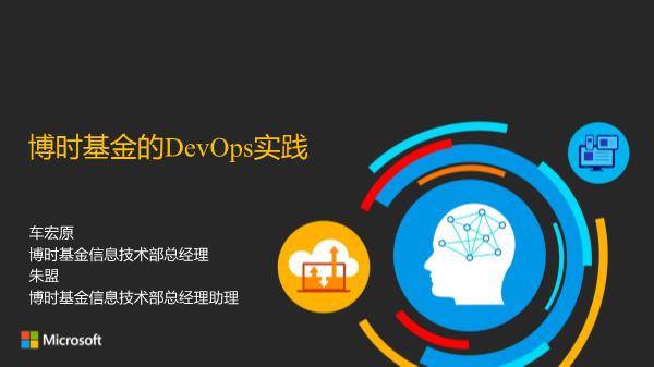 车宏原-博时基金的DevOps实践