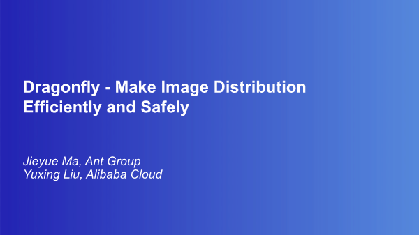 -make image distribution efficiently and safely