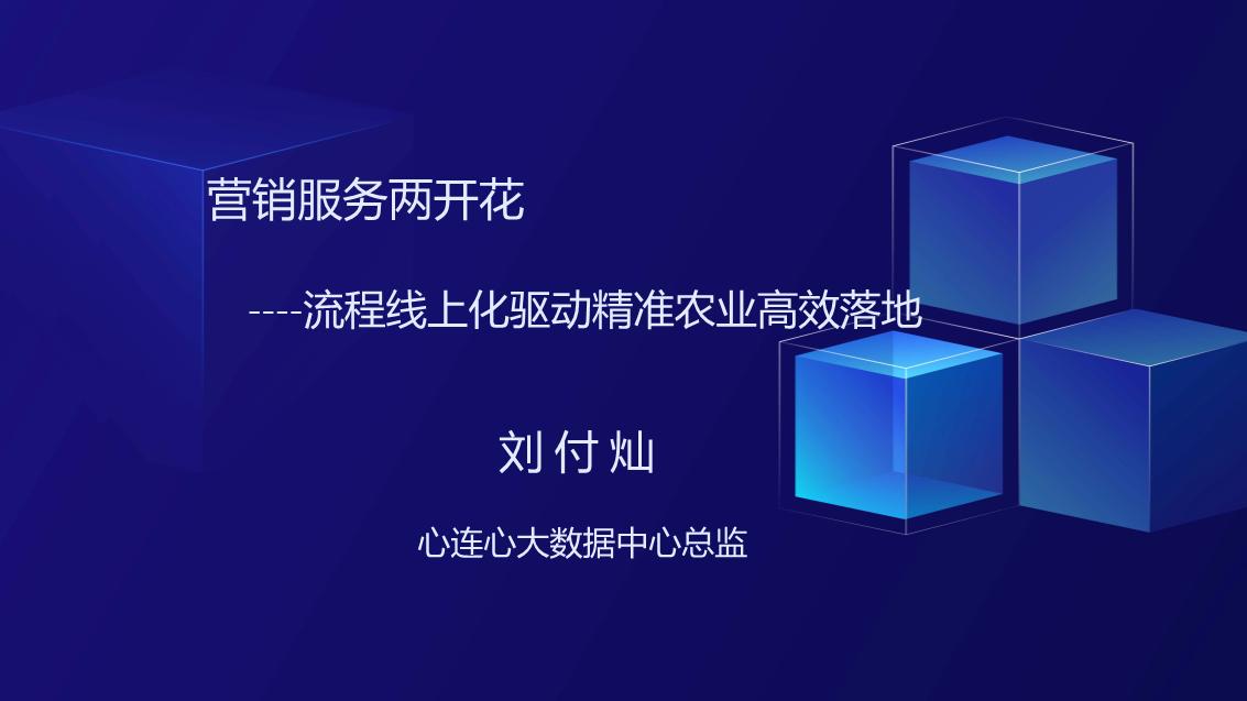 刘付灿-营销服务两开花流程线上化驱动精准备农业高效落地