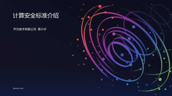 葛小宇-计算安全标准
