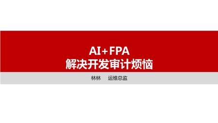 林林-AI+FPA 解决开发审计烦恼