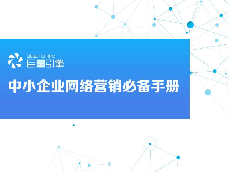 -2020中小企业网络营销必备手册