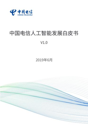 -中国电信人工智能发展白皮书