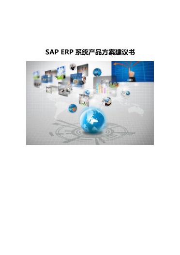 -SAP ERP系统产品方案建议书