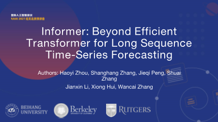 周号益-Beyond Efficient Transformer for Long Sequence Time
