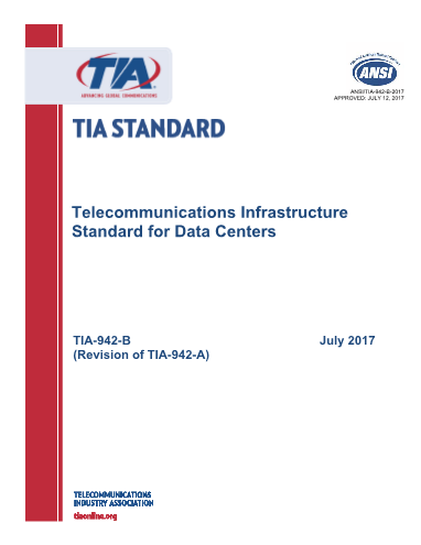 TIA-Telecommunications Infrastructure Standard for Data Centers.PDF