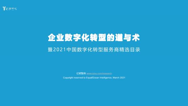 梁嘉琪-2021中国数字化转型服务商目录