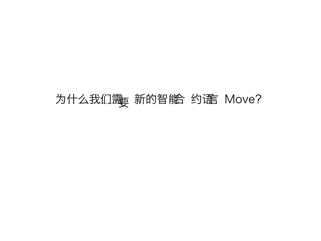 邓启明-为什么我们需要新的智能合约Move