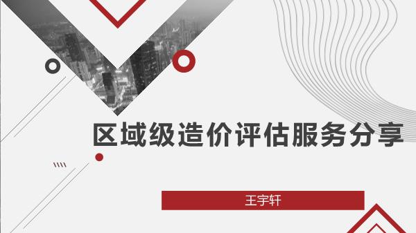 王宇轩-造价与区域级造价评估服务