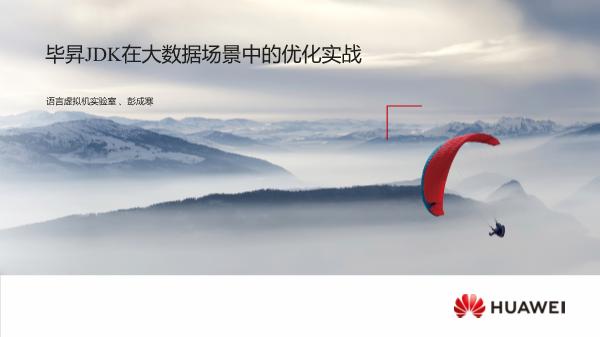 彭成寒-毕昇JDK在大数据场景中的优化实战