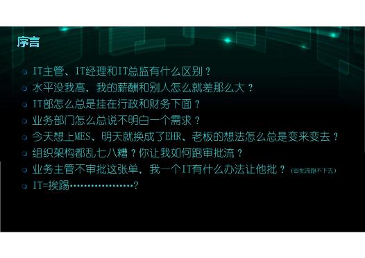 何永涛-十年IT管理的成长八道
